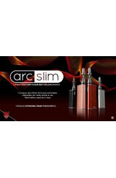 arc Slim E-cig Kit and E-liquid