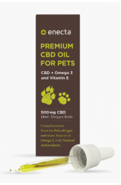 ENECTA PREMIUM CBD OIL FOR PETS - 500 mg CBD