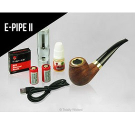 e-Pipe II Kit and e-liquid